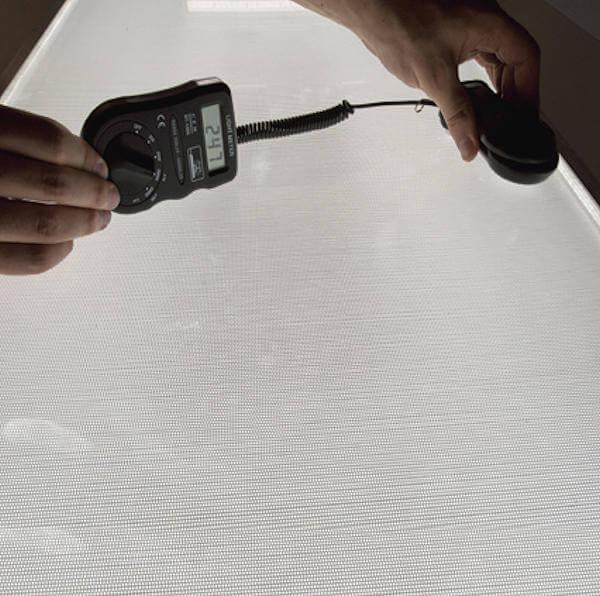 Měření svítivosti BLU panelu